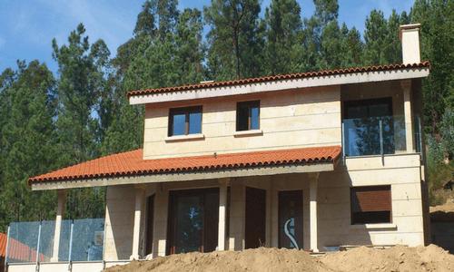 Vivienda de granito en Prado (Ponteareas)