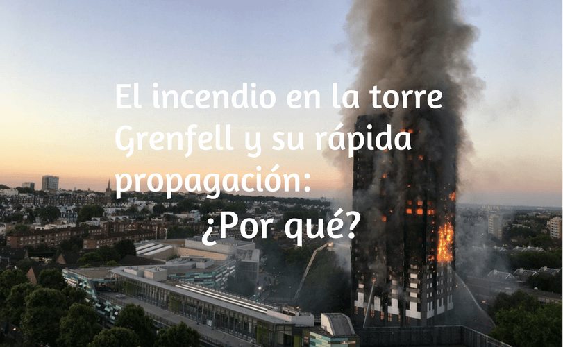 Propagación incendio torre Grenfell