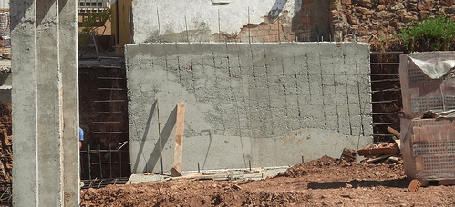 muro sin separadores