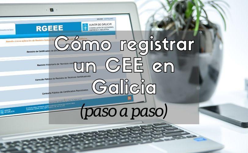 Registrar CEE Galicia